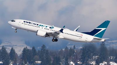 C-FRAX - Boeing 737-8 MAX - WestJet Airlines