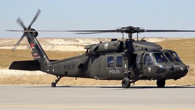 EM-702 - Sikorsky S-70A-17 Yarasa - Turkey - Police