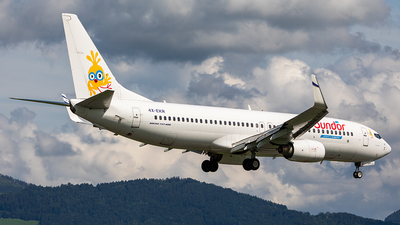 4X-EKR - Boeing 737-804 - Sun d'Or International Airlines