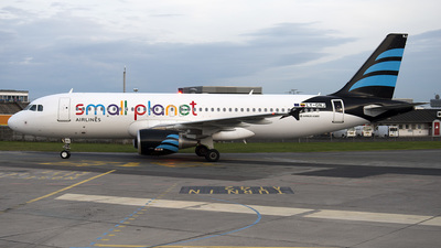 LY-ONJ - Airbus A320-214 - Small Planet Airlines