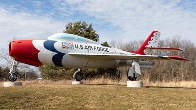 52-6486 - Republic F-84F Thunderstreak - United States - US Air Force (USAF)
