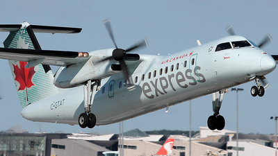 C-GTAT - Bombardier Dash 8-301 - Air Canada Express (Jazz Aviation)