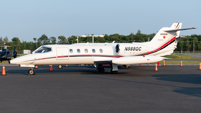 N988QC - Gates Learjet 35A - Private