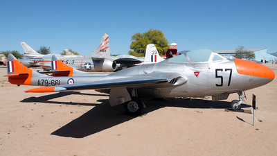 A79-661 - De Haviland Australia Vampire T.35 - Australia - Royal Australian Air Force (RAAF)