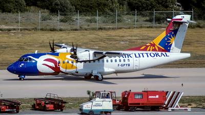F-GPYB - ATR 42-500 - Air Littoral