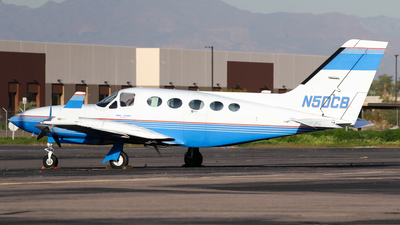 N50CB - Cessna 414A Chancellor - Private