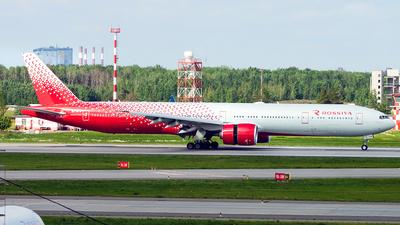 EI-GFB - Boeing 777-31HER - Rossiya Airlines