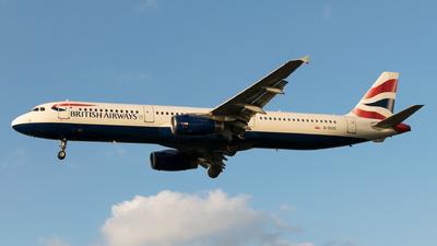 A picture of GEUXC - Airbus A321231 - British Airways - © Daniel Riederer