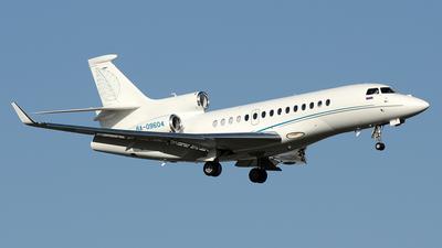 RA-09604 - Dassault Falcon 7X - Private