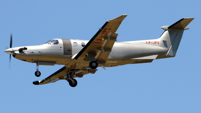 LX-JFS - Pilatus PC-12/47E - Jetfly Aviation