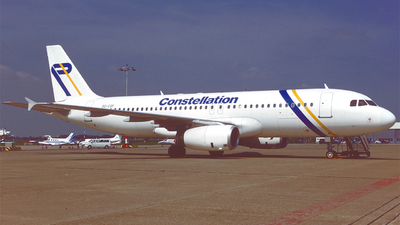 OO-COF - Airbus A320-232 - Constellation International Airlines
