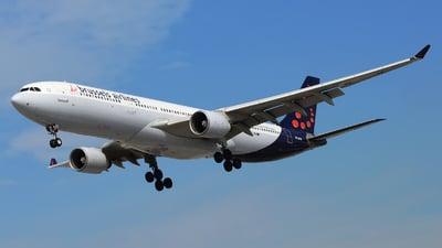 OO-SFW - Airbus A330-322 - Brussels Airlines