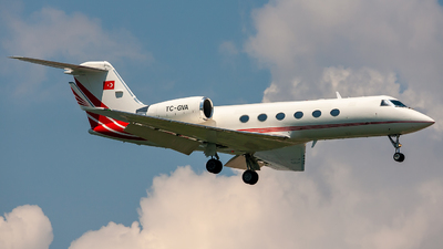 TC-GVA - Gulfstream G-IV - Turkey - Government