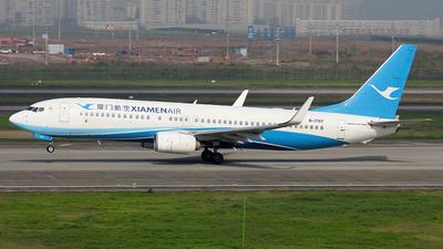 B-1707 - Boeing 737-85C - Xiamen Airlines