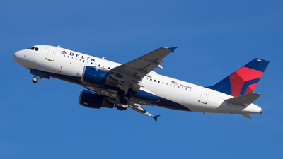 A picture of N368NB - Airbus A319114 - Delta Air Lines - © Stephen J Stein