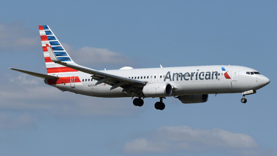 A picture of N337PJ - Boeing 737823 - American Airlines - © DJ Reed - OPShots Photo Team