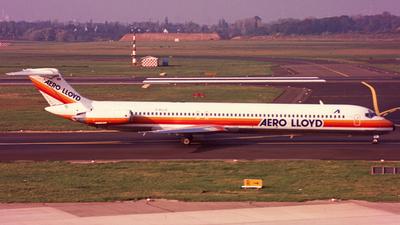 D-ALLE - McDonnell Douglas MD-83 - Aero Lloyd