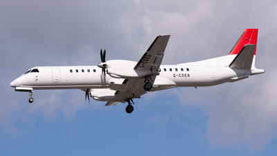 G-CDEB - Saab 2000 - Eastern Airways