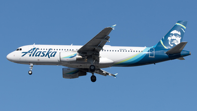 A picture of N841VA - Airbus A320214 - Alaska Airlines - © Yixin Chen