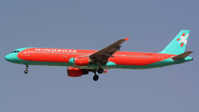 UR-WRO - Airbus A321-211 - Windrose Airlines