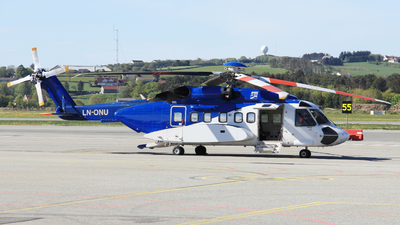 A picture of LNONU - Sikorsky S92A - Bristow Helicopters - © Witold Ozimek