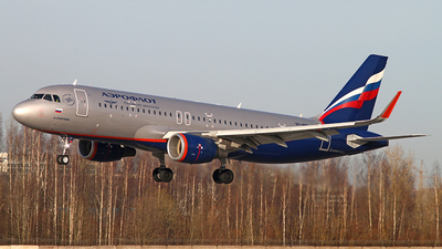 A picture of VPBIP - Airbus A320214 - Aeroflot - © Malyshev Andrei