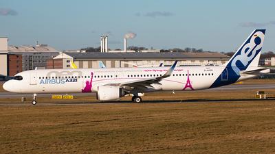 D-AVZO - Airbus A321-251NX - Airbus Industrie