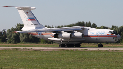 A picture of RA76429 - Ilyushin Il76TD - MCHS Rossii - © ShipSash