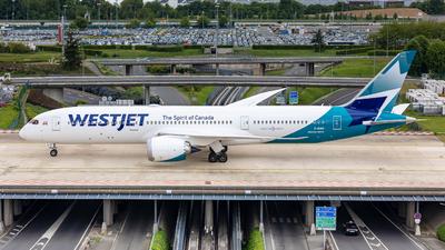 C-GUDO - Boeing 787-9 Dreamliner - WestJet Airlines