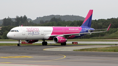 HA-LXN - Airbus A321-231 - Wizz Air