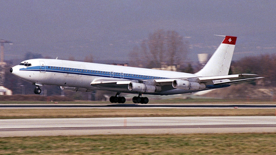 HB-IEI - Boeing 707-324C - Homac Aviation