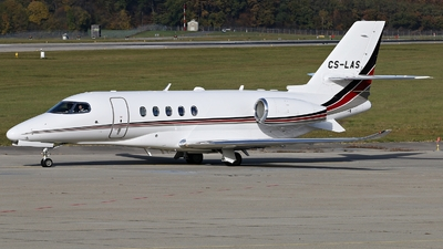 CS-LAS - Cessna Citation Latitude - NetJets Europe