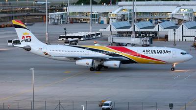 OO-ABB - Airbus A340-313 - Air Belgium