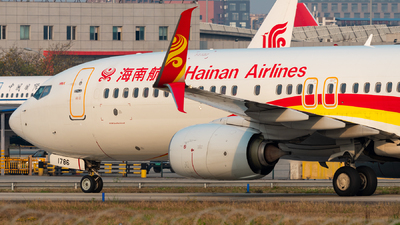 B-1786 - Boeing 737-84P - Hainan Airlines