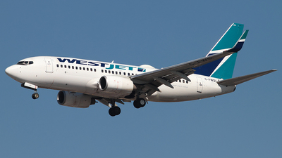 C-FWSI - Boeing 737-7CT - WestJet Airlines