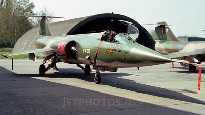 FX89 - Lockheed F-104G Starfighter - Belgium - Air Force