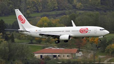 D-ABAF - Boeing 737-86J - Niki