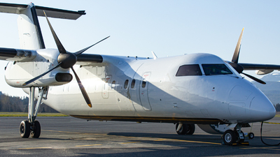 A picture of CFVRJ - De Havilland Canada Dash 8100 - Central Mountain Air - © Keeper1