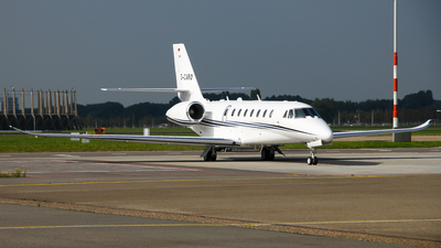 D-CARO - Cessna 680 Citation Sovereign Plus - Aerowest Flugcharter