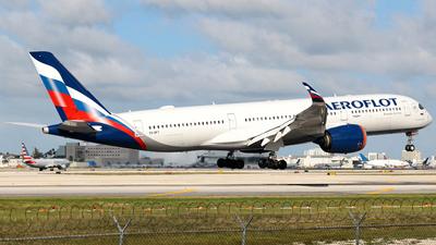 A picture of VQBFY - Airbus A350941 - Aeroflot - © Robert Maverick Rivera