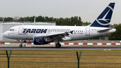 YR-ASD - Airbus A318-111 - Tarom - Romanian Air Transport