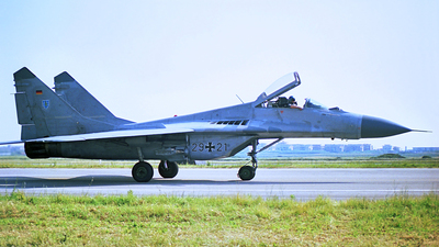 29-21 - Mikoyan-Gurevich Mig-29G Fulcrum - Germany - Air Force