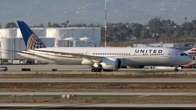 N29968 - Boeing 787-9 Dreamliner - United Airlines