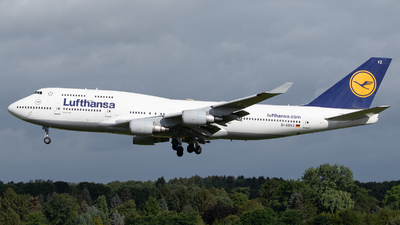 A picture of DABVZ - Boeing 747430 - Lufthansa - © kevin.hackert