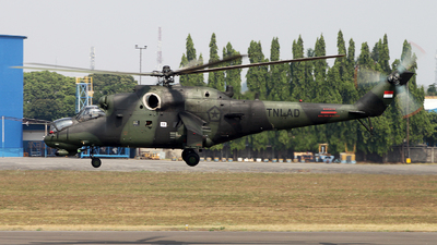 HS-7152 - Mil Mi-35P Hind - Indonesia - Army