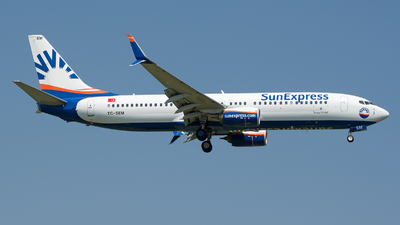 TC-SEM - Boeing 737-8HC - SunExpress
