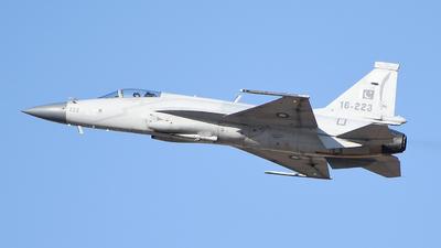 16-223 - Pakistan JF-17 Thunder - Pakistan - Air Force
