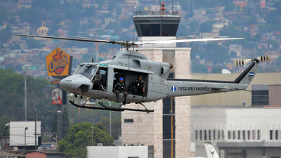 FAH-974 - Bell 412SP - Honduras - Air Force