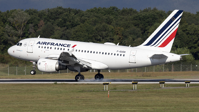 A picture of FGUGR - Airbus A318111 - Air France - © Dranob
