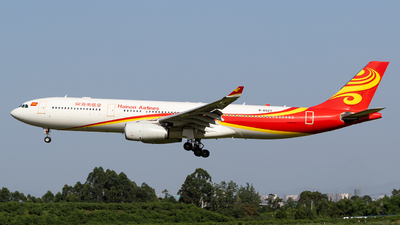 A picture of B6527 - Airbus A330343 - Hainan Airlines - © HM Liu